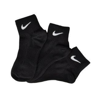 Носки Nike 3ppk Lightweight Quarter (S,M, - фото 2