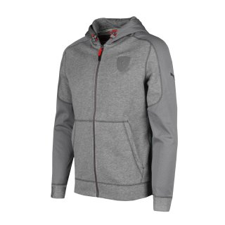 Кофта Puma Ferrari Hooded Sweat Jacket - фото 1
