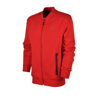 Кофта Puma Ferrari Sweat Jacket - фото 1