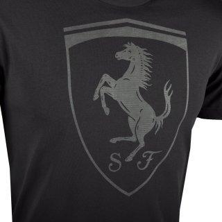 Футболка Puma Ferrari Big Shield Tee - фото 3