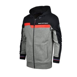 Кофта Puma BMW MSP Hooded Sweat Jacket - фото 1