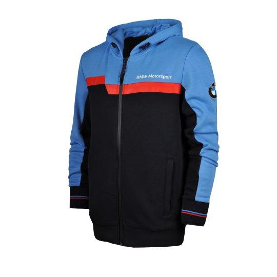Кофта Puma BMW MSP Hooded Sweat Jacket - фото
