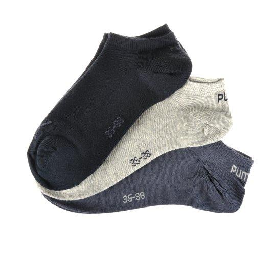Носки Puma Invisible Sneaker 3 Pair - фото