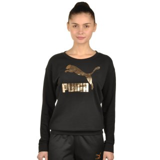 Кофта Puma No.1 Logo Crew Sweat - фото 1