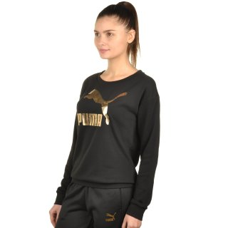 Кофта Puma No.1 Logo Crew Sweat - фото 2