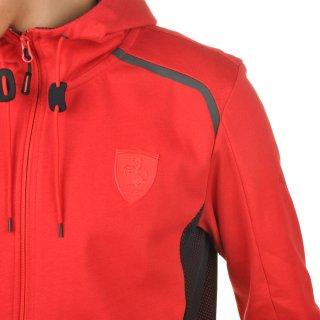 Кофта Puma Ferrari Hooded Sweat Jacket - фото 6