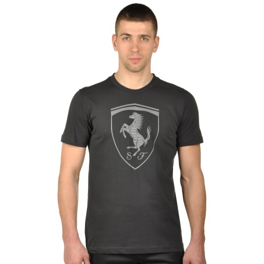 Футболка Puma Ferrari Big Shield Tee - фото