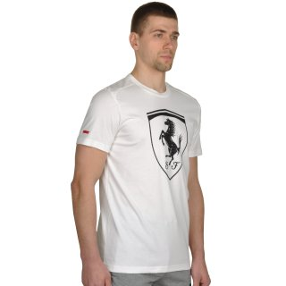Футболка Puma Ferrari Big Shield Tee - фото 4