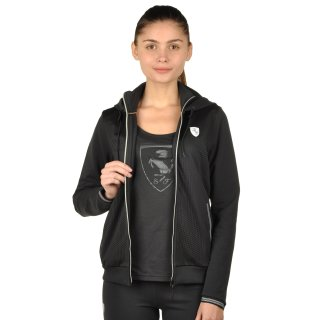 Кофта Puma Ferrari Sweat Jacket - фото 5