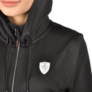 Кофта Puma Ferrari Sweat Jacket - фото 6