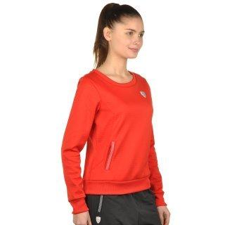 Кофта Puma Ferrari Crew Neck Sweater - фото 4