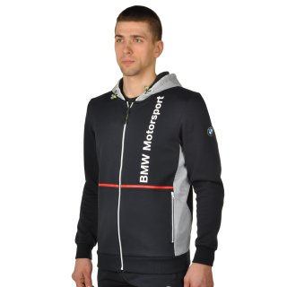 Кофта Puma Bmw Msp Hooded Sweat Jacket - фото 2