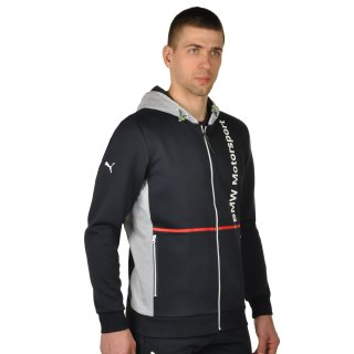 Кофта Puma Bmw Msp Hooded Sweat Jacket - фото 4