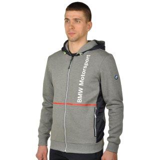 Кофта Puma Bmw Msp Hooded Sweat Jacket - фото 2
