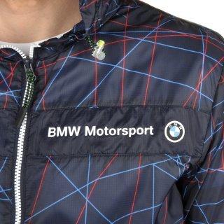 Куртка-ветровка Puma Bmw Msp Lightweight Jacket - фото 6