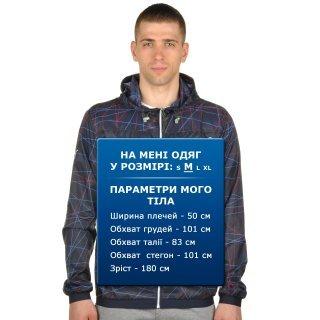 Куртка-ветровка Puma Bmw Msp Lightweight Jacket - фото 7