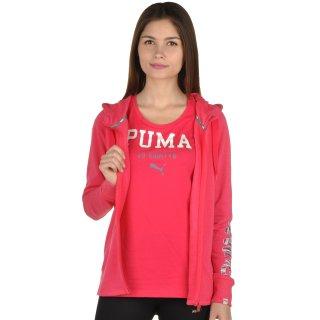 Кофта Puma Fun Font Hooded S Jkt Tr W - фото 5