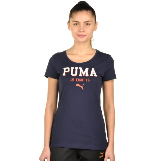 Футболка Puma STYLE ATHL Tee W - фото