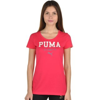 Футболка Puma Style Athl Tee W - фото 1