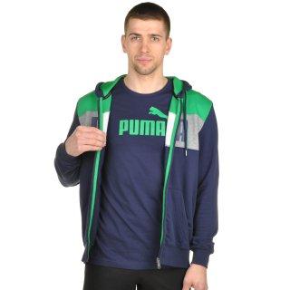 Кофта Puma Power Block Fz Hoody Tr - фото 5