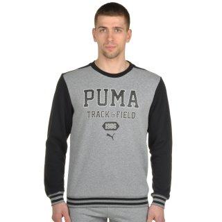 Кофта Puma Style Athl Crew Sweat Tr - фото 1