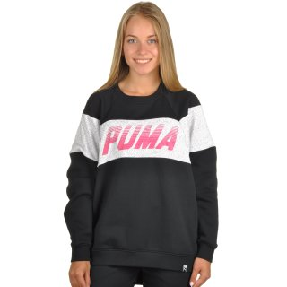 Кофта Puma Speed Font Crew - фото 1