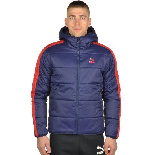 Куртка Puma T7 Padded Jacket Hoody - фото