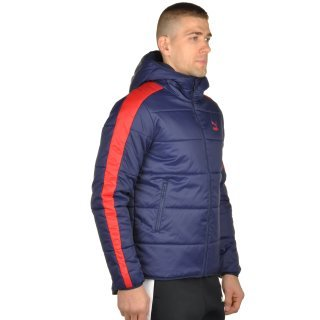 Куртка Puma T7 Padded Jacket Hoody - фото 4