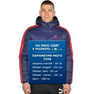 Куртка Puma T7 Padded Jacket Hoody - фото 7