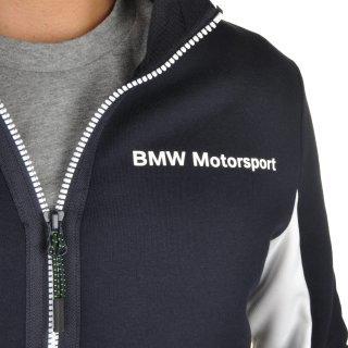Кофта Puma BMW Msp Hooded Sweat Jacket - фото 6