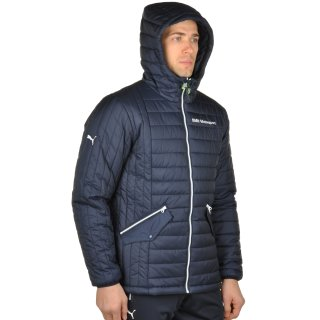 Куртка Puma Bmw Msp Padded Jacket - фото 4
