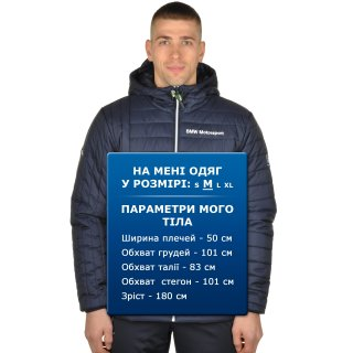 Куртка Puma Bmw Msp Padded Jacket - фото 10