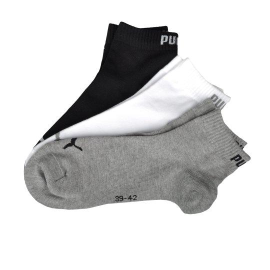 Носки Puma Quarter 3p 3-Pack - фото