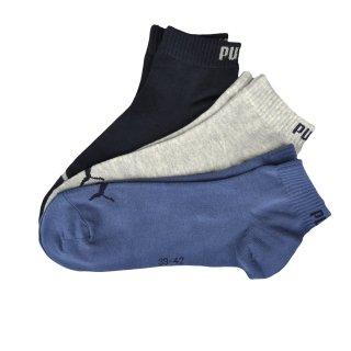 Носки Puma Quarter Socks 3 Pair - фото 1