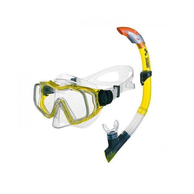 Аксессуары для плавания Arena Sea Discovery Jr Mask+Snorkel - фото
