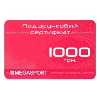 Подарочный сертификат Megasport Cert_1000 - фото 1