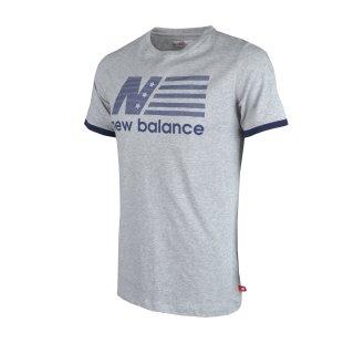 Футболка New Balance Flag Tee - фото 1