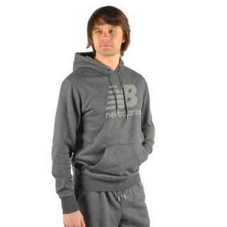 Кофта New Balance Pullover Hoodie - фото 7
