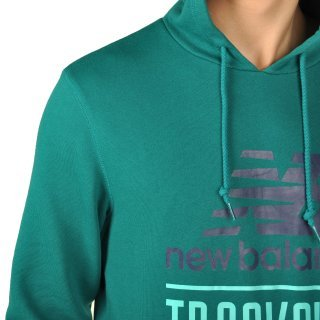 Кофта New Balance Trackclub Hood - фото 5