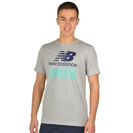 Футболка New Balance Trackclub Logo - фото