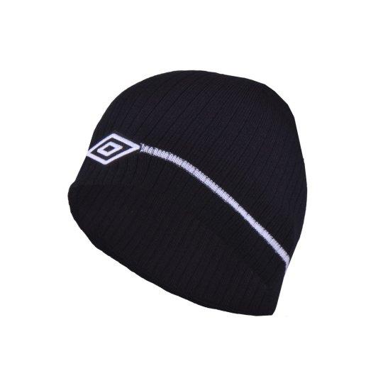 Шапка Umbro Stripe Logo Beanie - фото