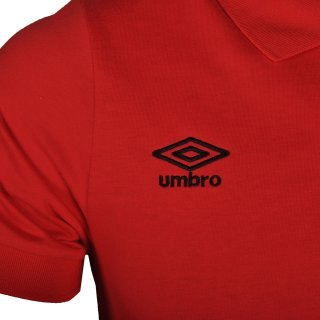 Поло Umbro Basic Jersey Polo - фото 3