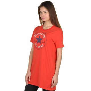 Футболка Converse Chuck Patch Tee Dress - фото 2