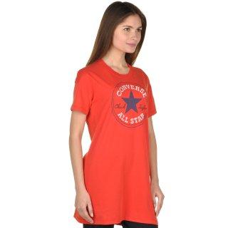 Футболка Converse Chuck Patch Tee Dress - фото 4