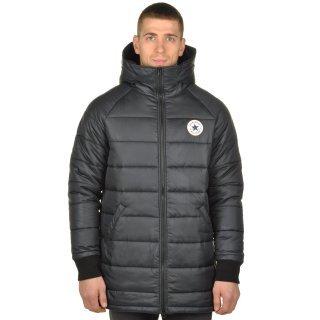 Куртка Converse Core Long Hooded Puffer - фото 1