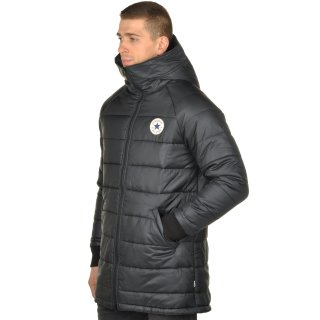 Куртка Converse Core Long Hooded Puffer - фото 2