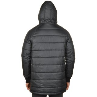 Куртка Converse Core Long Hooded Puffer - фото 3