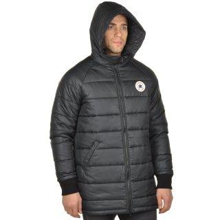 Куртка Converse Core Long Hooded Puffer - фото 4