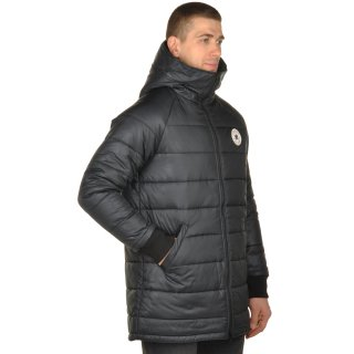 Куртка Converse Core Long Hooded Puffer - фото 5