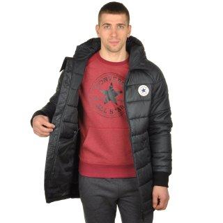 Куртка Converse Core Long Hooded Puffer - фото 6